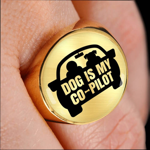Dog is My Co-Pilot Ring