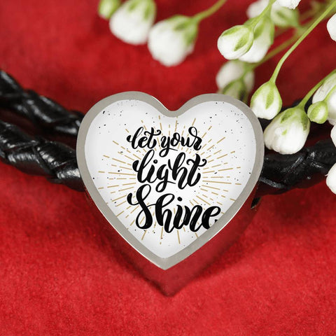 Image of Shine Heart Charm