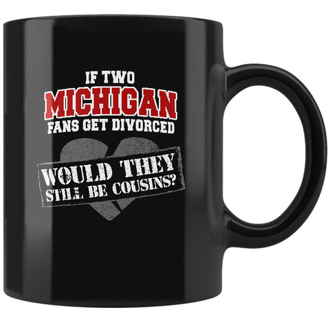 Michigan Coffee Mug - Black