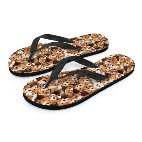 Image of Beagles Flip Flops