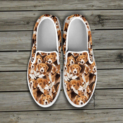 Image of Beagles Slip Ons Women