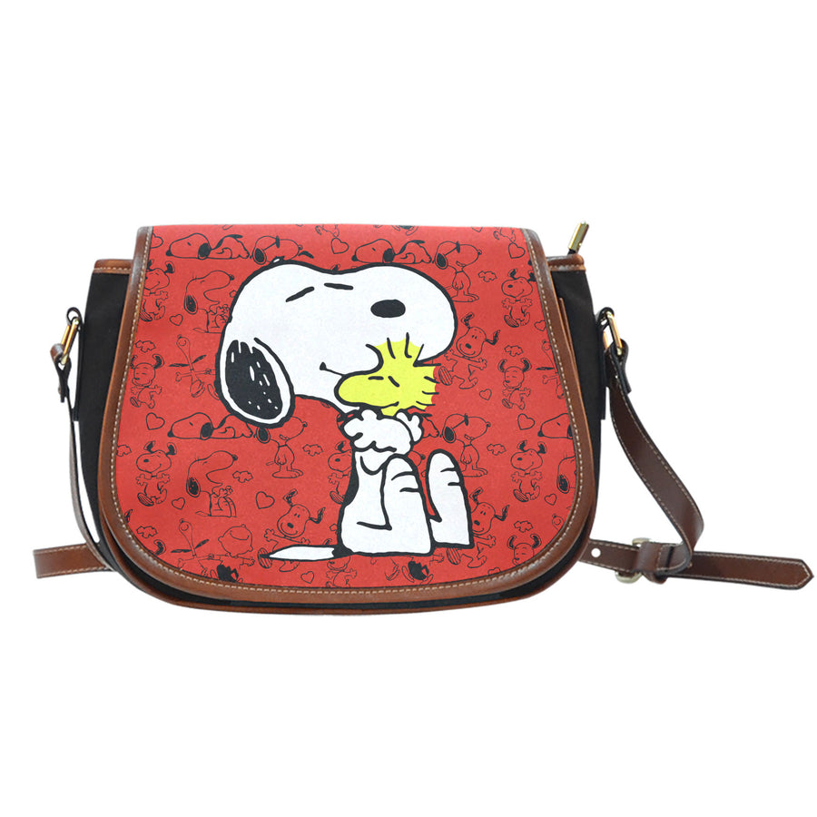 Snoopy and Woodstock - Saddle Bag