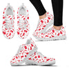 Nurse Pattern Women's Sneakers