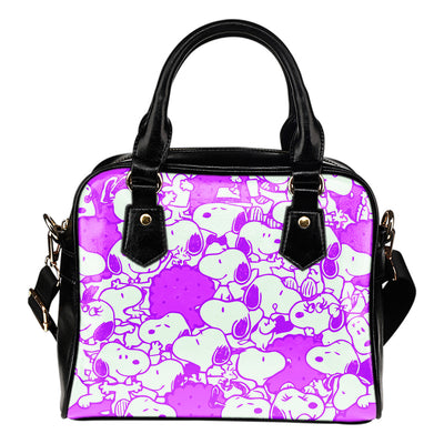 Snoopy Handbag - Purple