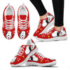 Snoopy Cute Red Sneakers