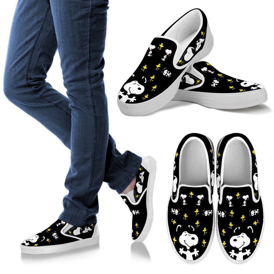 Snoopy Friendship - Slip Ons
