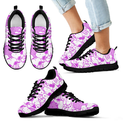 Snoopy Sneakers - Purple