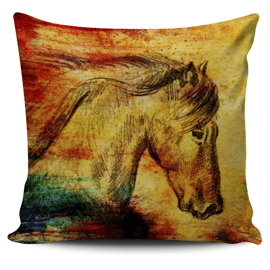 Horse 3 Pillow Cover