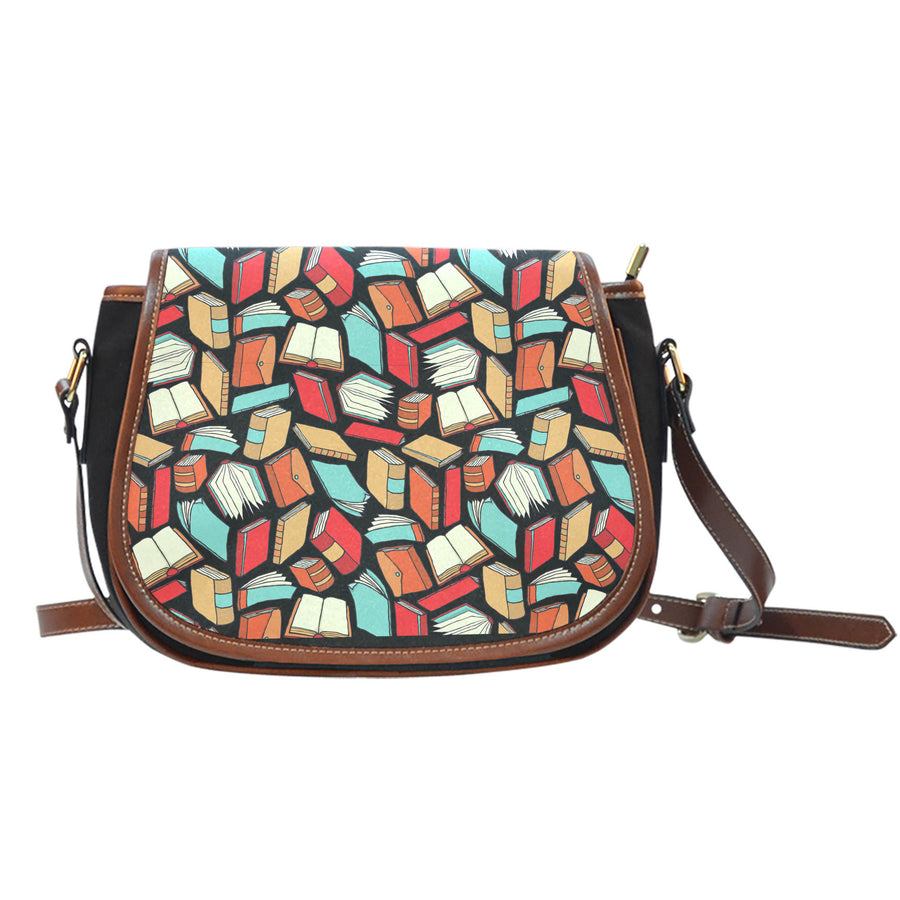 Book Lovers Pattern - Saddle Bag