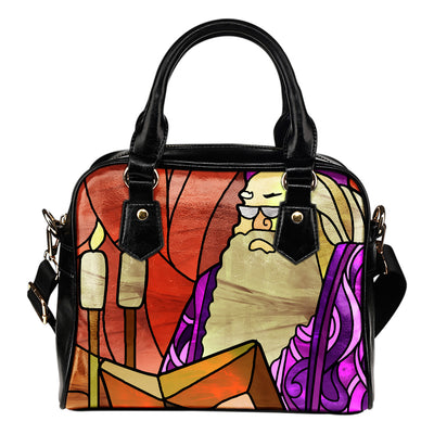 Dumbledore Stained Glass Hand Bag