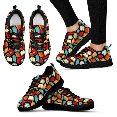 Book lovers Pattern - Sneakers