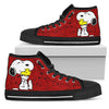 Snoopy and Woodstock - High Tops