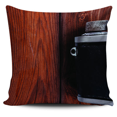 Retro Camera Pillow Covers