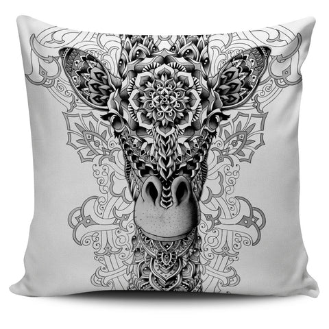 GIRAFFE ORNATE PILLOW COVER