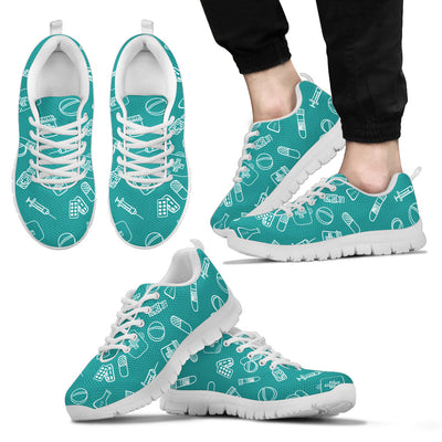 Nurse Sneakers - Turquoise