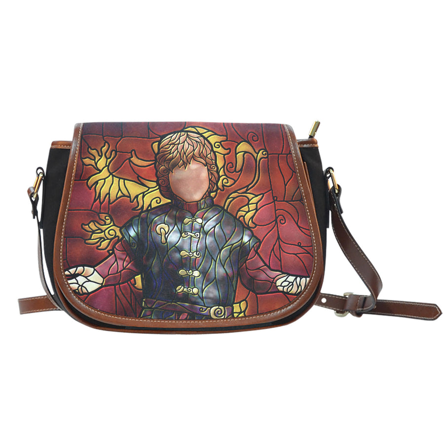 Tyrion Lannister Stained Glass Saddle Bag