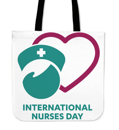 International Nurses Day - Linen Tote Bag