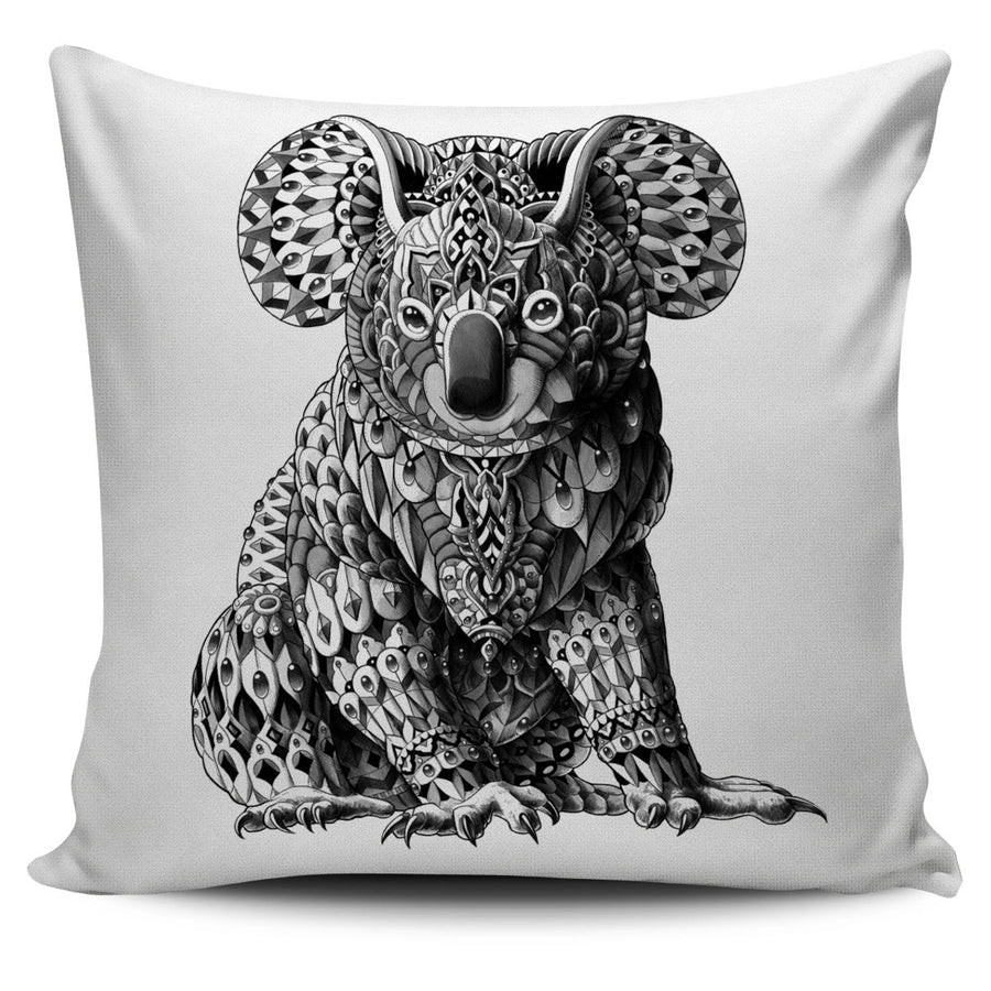 KOALA ORNATE ANIMAL PILLOW COVER