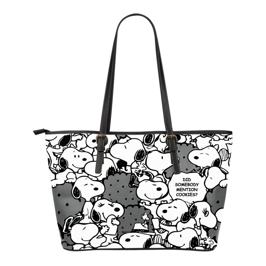 Snoopy Tote Bag - Black