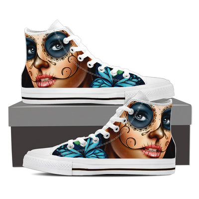 Calavera High Tops Blue