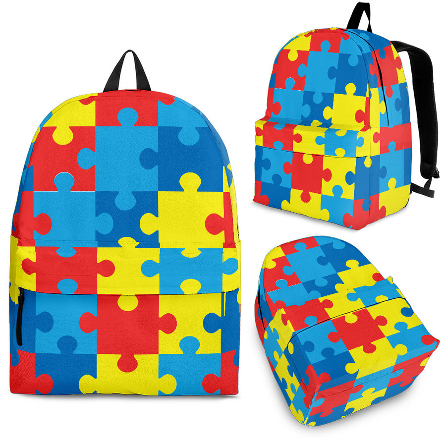 Autism Awareness V2 - Backpack
