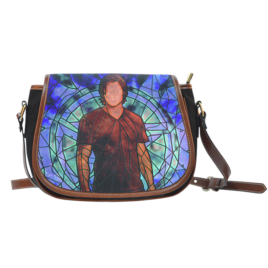 Sam Supernatural Stained Glass Saddle Bag