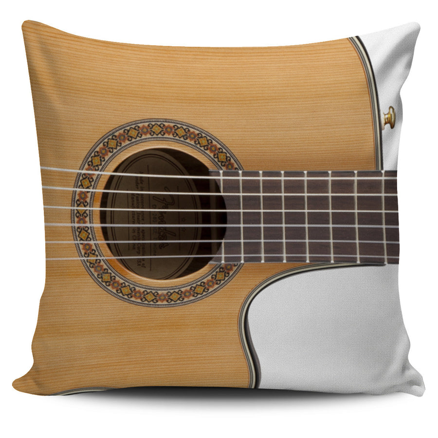 Classic Guitar Pillow Cover