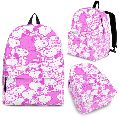 Snoopy Backpack - Purple