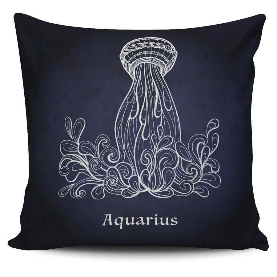 Aquarius Pillow Cover