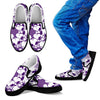 Snoopy Slip Ons Dark Purple