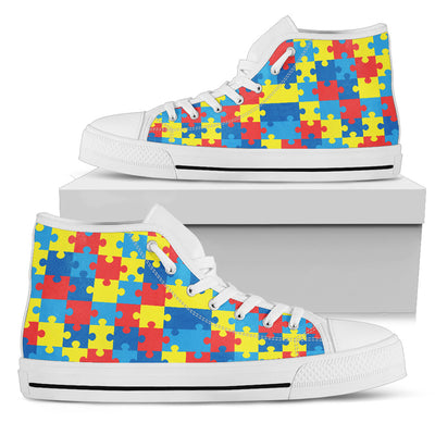 Autism Awareness V2 - High Tops