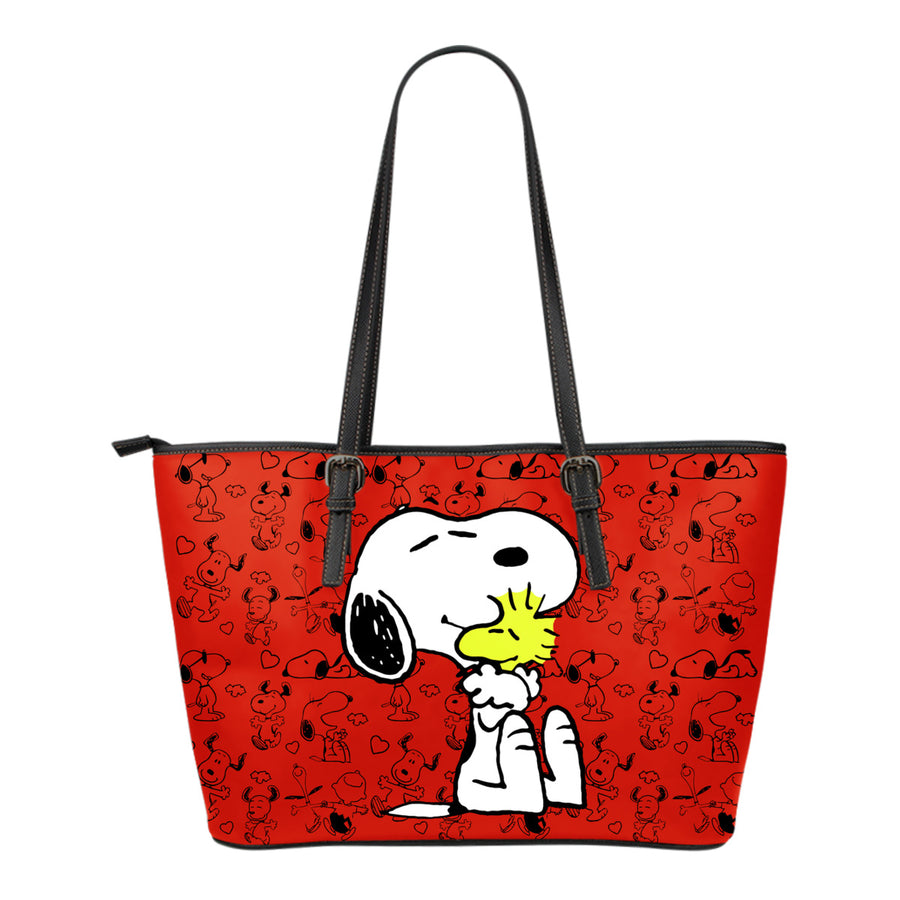 Snoopy and Woodstock - Tote Bag