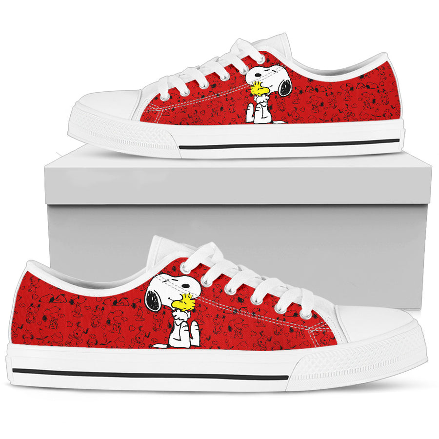 Snoopy and Woodstock - Low Tops