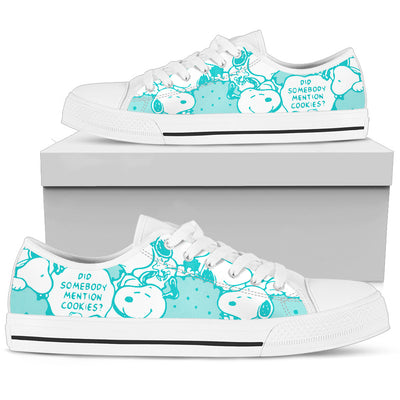 Blue Snoopy - Low Tops