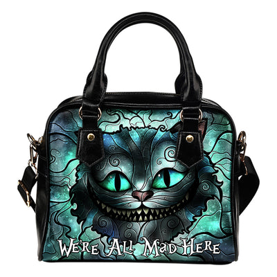We're All Mad Here - Handbag