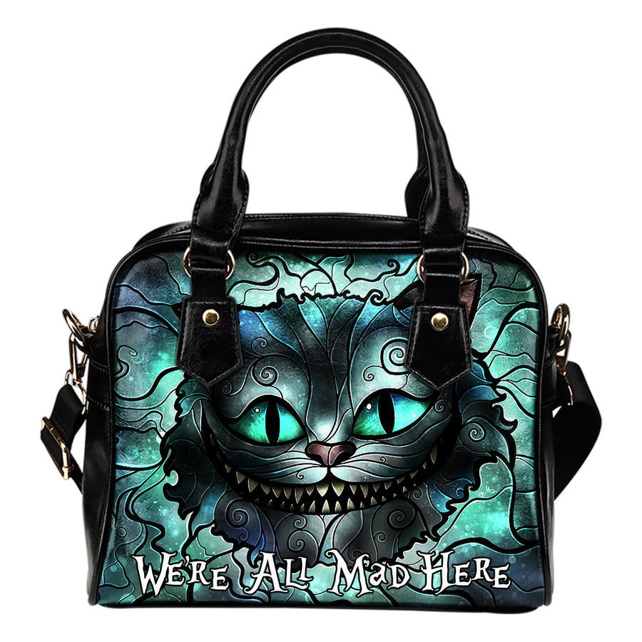 We're All Mad Here Hand Bag