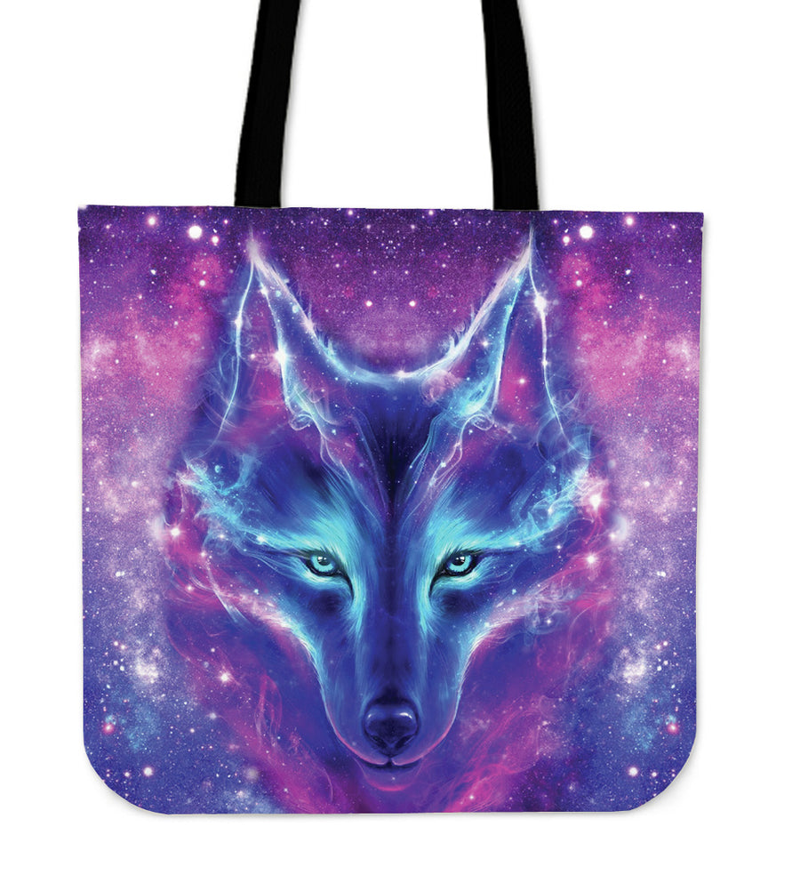 Galaxy Wolf - Tote Bag