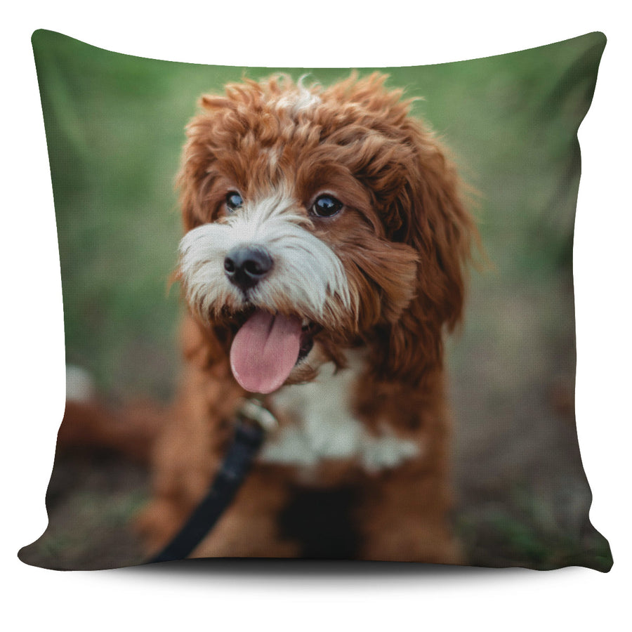 Faithful Friend Pillow Cover
