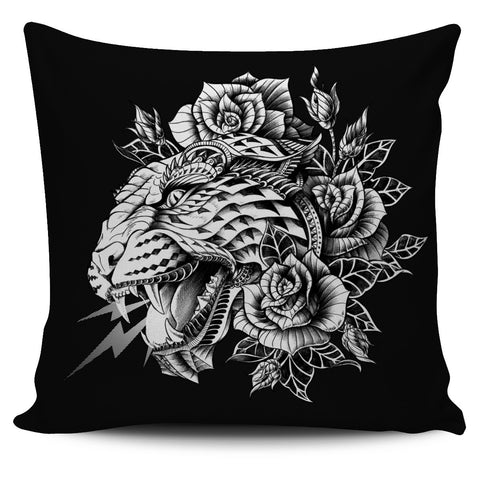 ORNATE LEOPARD ORNATE ANIMAL PILLOW COVER