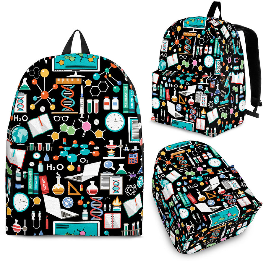 Science Pattern - Backpack