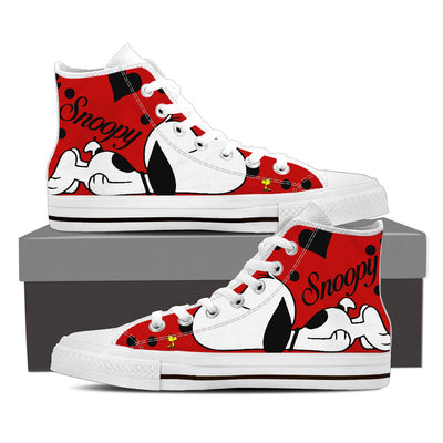 Snoopy High Tops