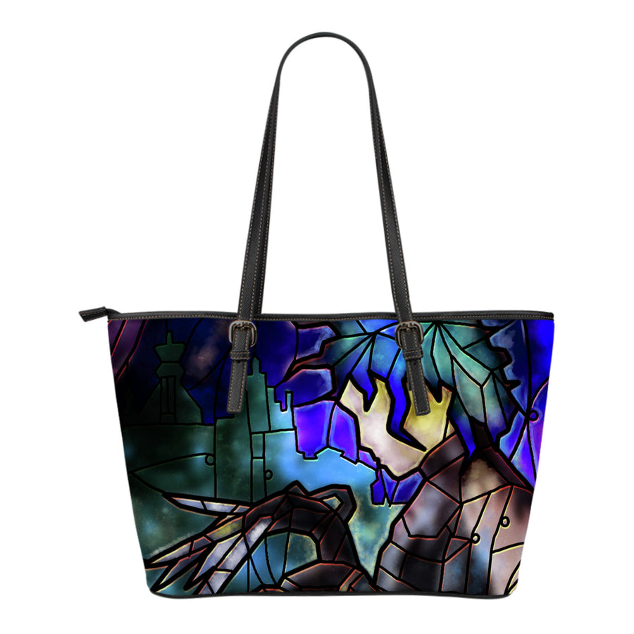 Edward Scissorhands Stained Glass Tote Bag