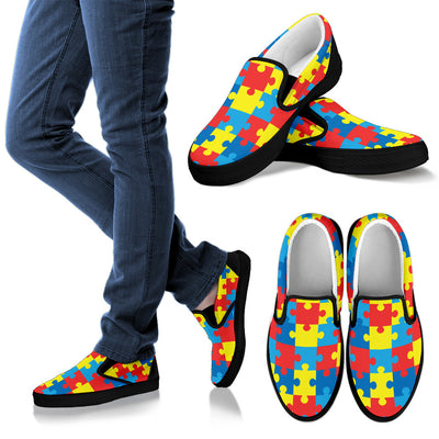 Autism Awareness V2 - Slip Ons