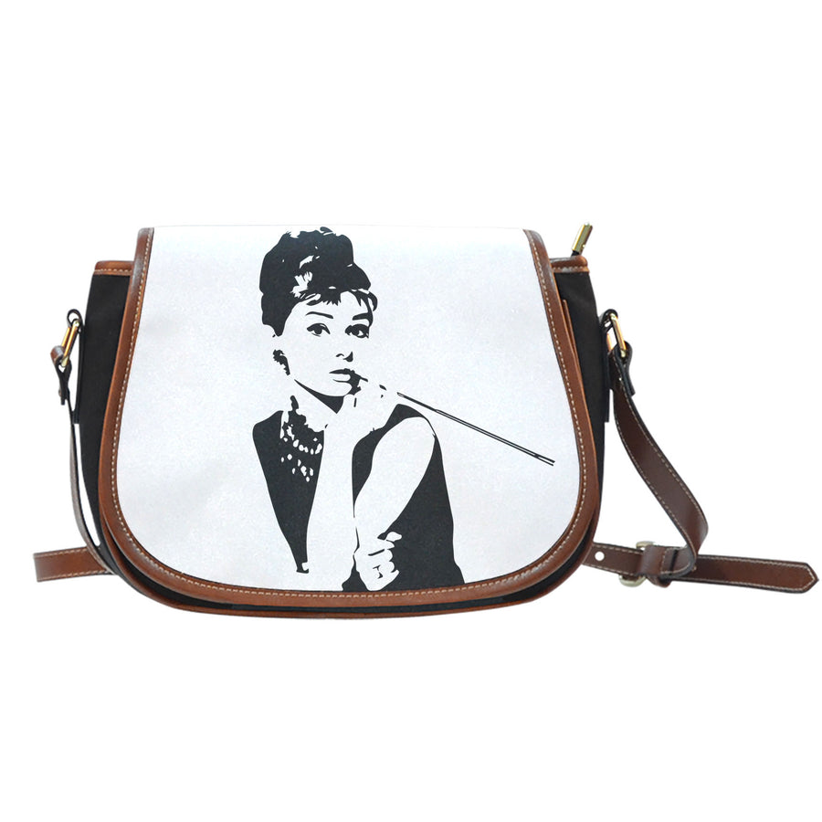 Breakfast At Tiffany's - Saddle Bag