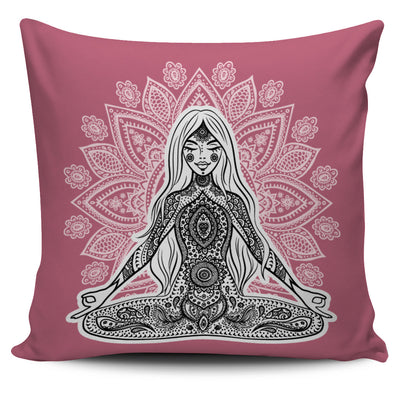 Spiritual Mandala Pillow Covers III