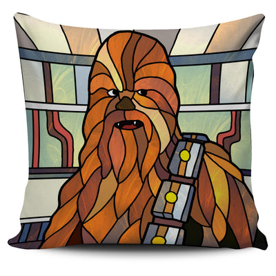 Star Wars Stained Glass Design Pillow Covers