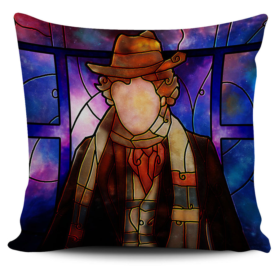 Dr Who Stain Glass Pillow Covers