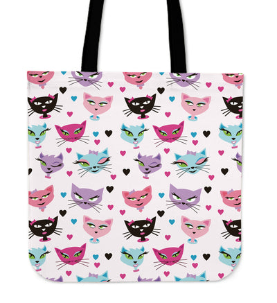 Kitty Cat Tote Bag