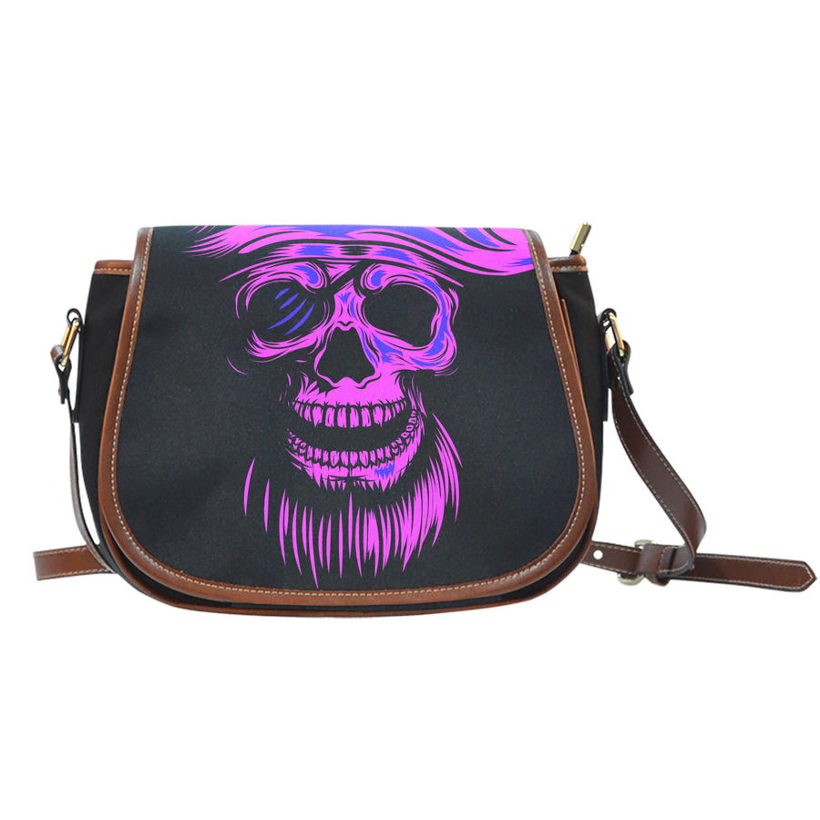 Purple Skull - Saddlebag