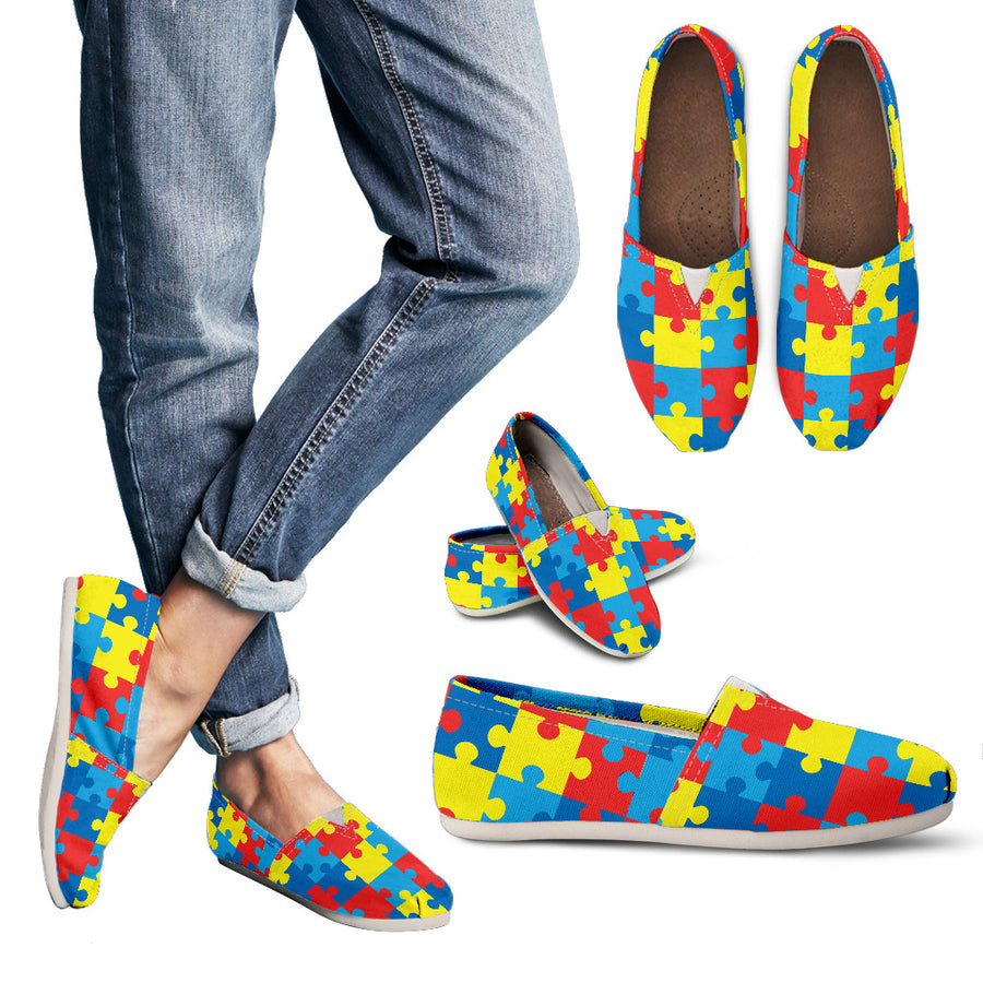 Autism Awareness V2 - Casual Shoes
